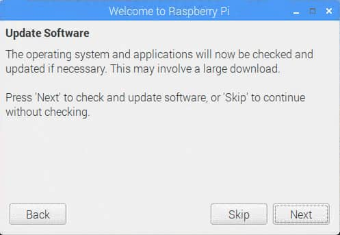Raspberry pi ソフトウェアのアップデートを行う。